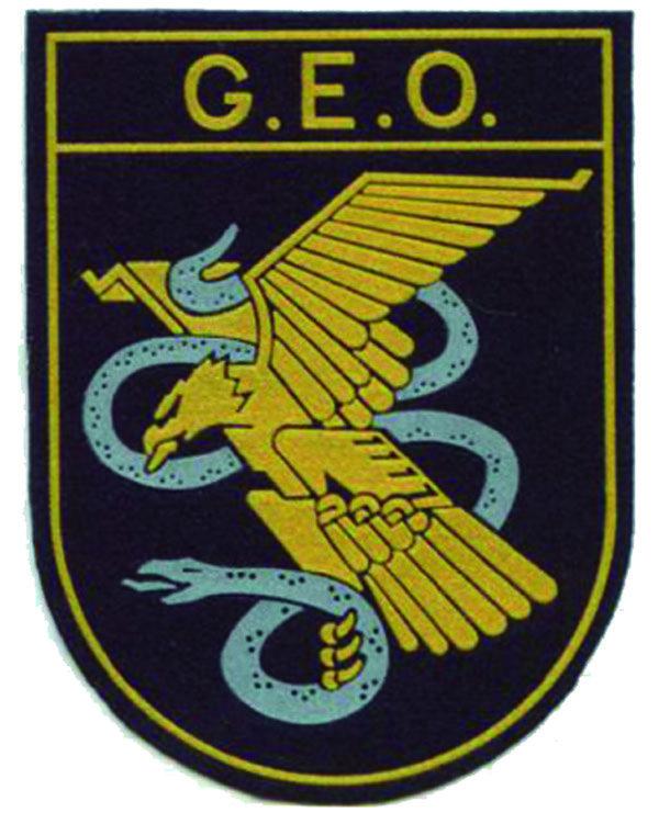 Escudo del GEO