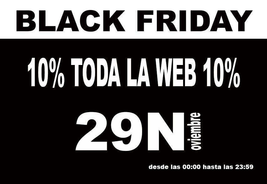 10% Descuento Black Friday Andreu Soler i Associats 2013
